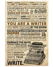 Writer Inspiration poster 11x17 Poster front