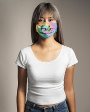 Love doesnt discriminate Cloth face mask aos-face-mask-lifestyle-15