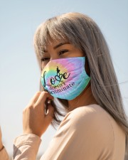 Love doesnt discriminate Cloth face mask aos-face-mask-lifestyle-20