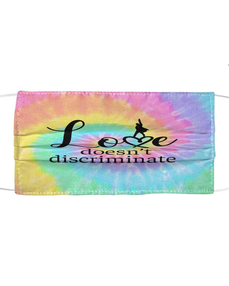 Love doesnt discriminate Cloth face mask