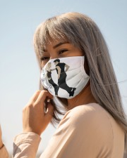 Grease dance Cloth face mask aos-face-mask-lifestyle-20