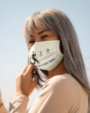 Once in a Lifetime Walk Cloth face mask aos-face-mask-lifestyle-20