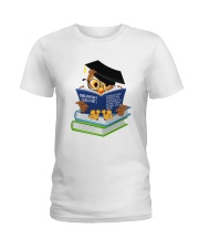Bibliovert a person who prefers the company  Ladies T-Shirt thumbnail