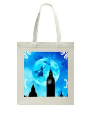 Magical Watercolor Night Tote Bag thumbnail