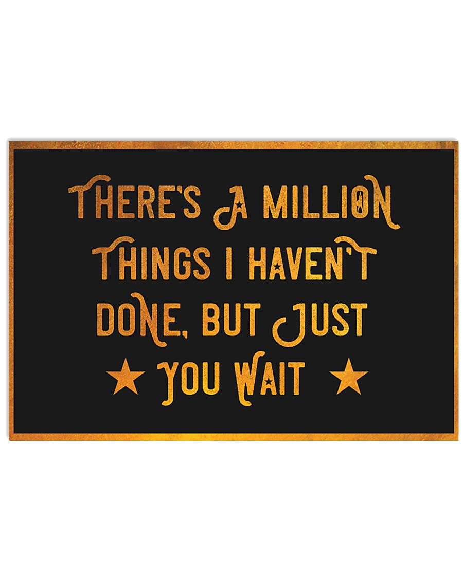 Theres million things Hamilton 17x11 Poster