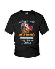 Weekend forecast Reading with no chance of  Youth T-Shirt thumbnail
