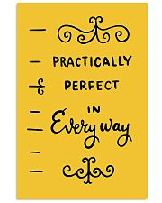 Practically perfect phone case 11x17 Poster thumbnail