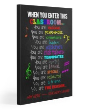 Music Classroom Personalized Poste Gallery Wrapped Canvas Prints tile