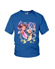 Mermaid girl Youth T-Shirt front