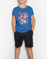 Mermaid girl Youth T-Shirt lifestyle-youth-tshirt-front-1