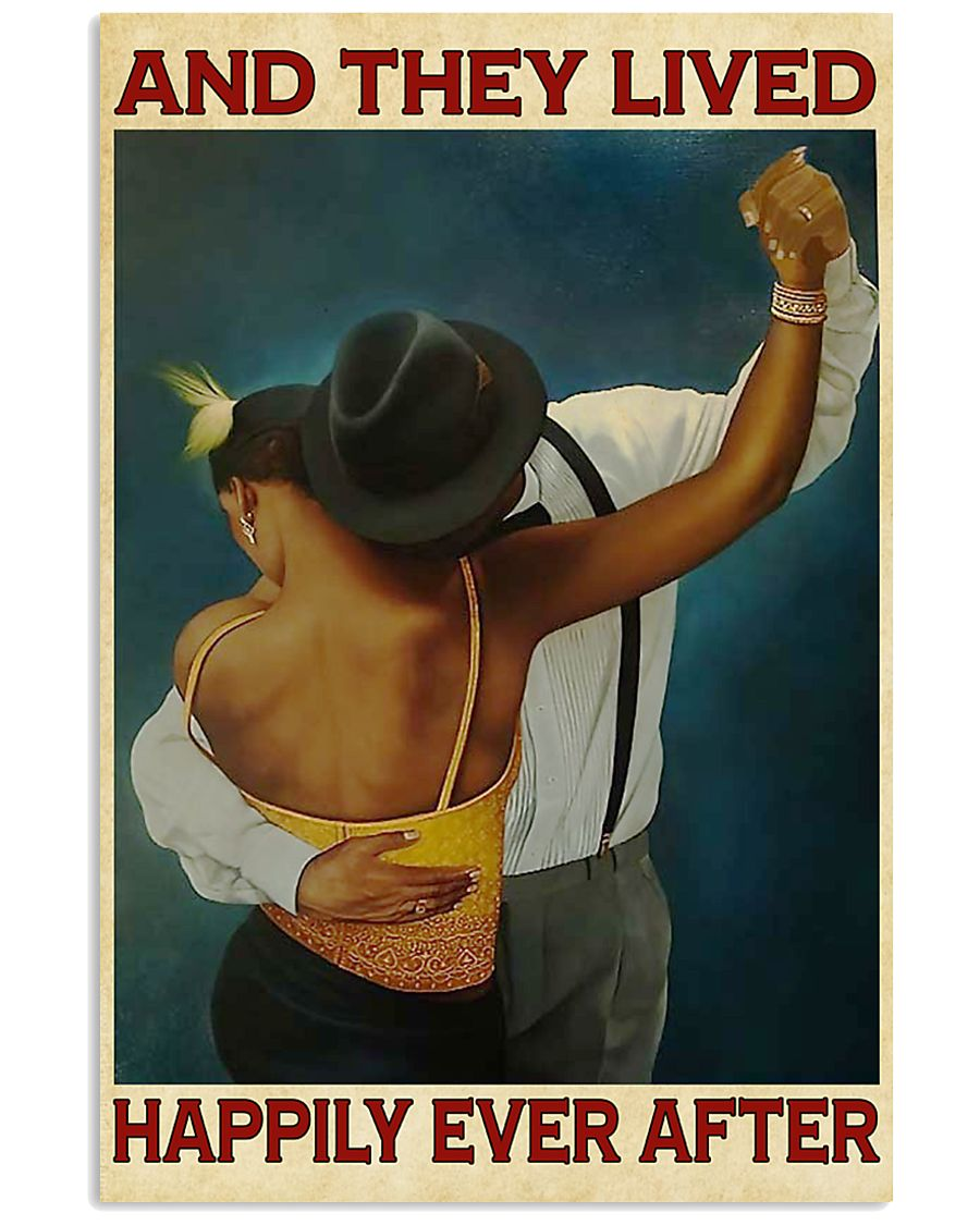African American Happily Ever 11x17 Poster
