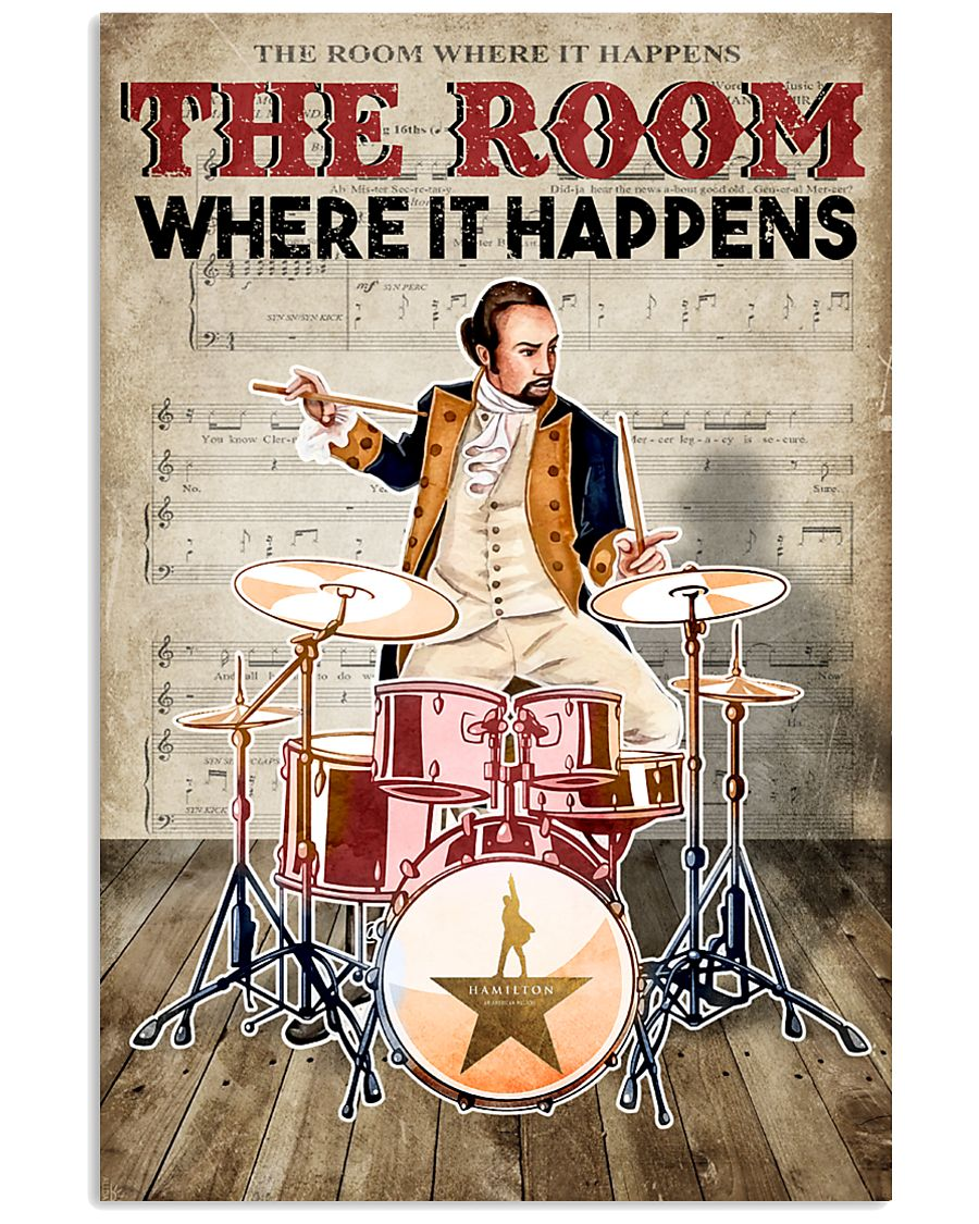 Drummer The Room Where It Happens 11x17 Poster