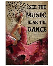 Flamenco hear the dance poster 11x17 Poster front