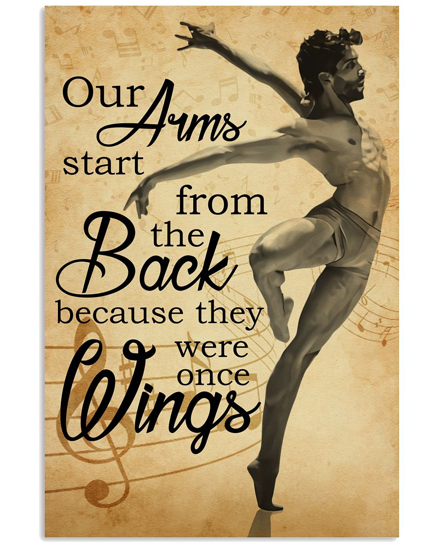 Ballet our arm poster 11x17 Poster