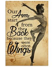 Ballet our arm poster 11x17 Poster front