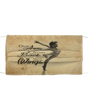Ballet our arm poster Cloth face mask thumbnail