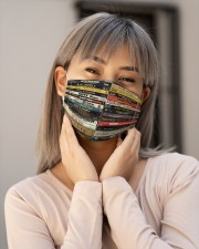 Hip Hop Tapes 90s Cloth face mask aos-face-mask-lifestyle-17