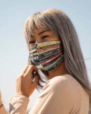 Hip Hop Tapes 90s Cloth face mask aos-face-mask-lifestyle-20