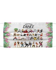 Dance Everybody dance Cloth face mask front