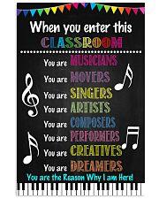 Music Teacher Classroom 11x17 Poster front