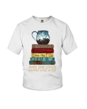LOTR Book Stack Youth T-Shirt tile