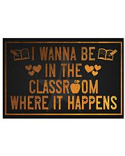 The classroom it happens poster 17x11 Poster front