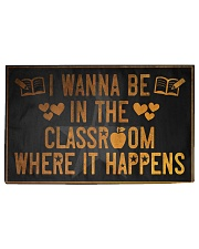 The classroom it happens poster Woven Rug - 3' x 2' thumbnail
