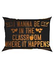 The classroom it happens poster Rectangular Pillowcase thumbnail