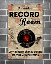 Record vinyl poster customized 11x17 Poster aos-poster-portrait-11x17-lifestyle-18