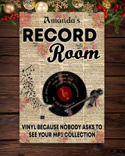Record vinyl poster customized 11x17 Poster aos-poster-portrait-11x17-lifestyle-22