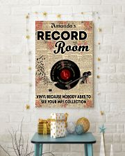 Record vinyl poster customized 11x17 Poster lifestyle-holiday-poster-3