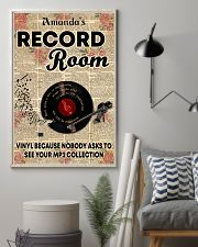 Record vinyl poster customized 11x17 Poster lifestyle-poster-1