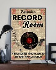 Record vinyl poster customized 11x17 Poster lifestyle-poster-2