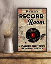 Record vinyl poster customized 11x17 Poster lifestyle-poster-3