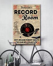 Record vinyl poster customized 11x17 Poster lifestyle-poster-7