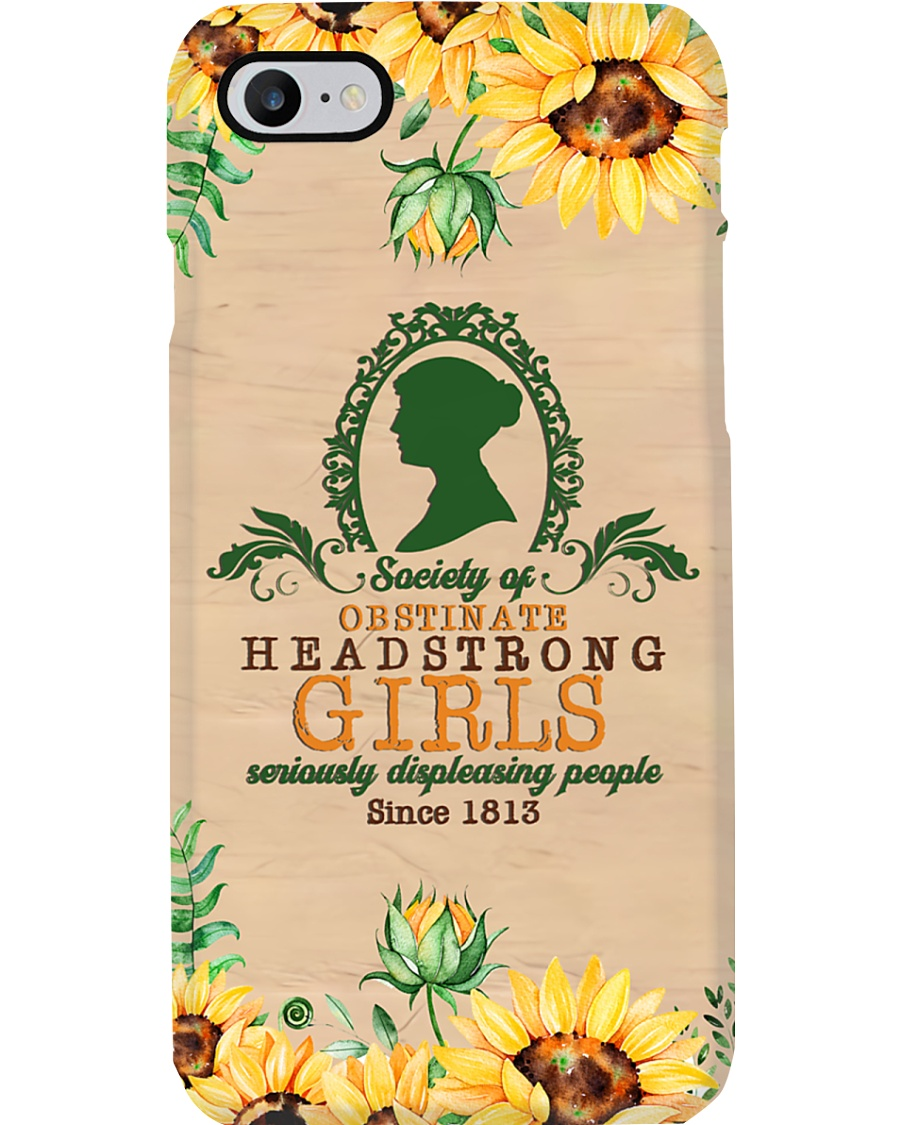 Obstinate headstrong girls phonec Phone Case
