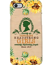 Obstinate headstrong girls phonec Phone Case i-phone-8-case