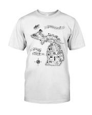 Upper Earth Lower Earth LOTR Classic T-Shirt thumbnail