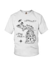 Upper Earth Lower Earth LOTR Youth T-Shirt thumbnail