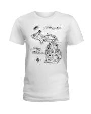 Upper Earth Lower Earth LOTR Ladies T-Shirt thumbnail