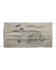 Upper Earth Lower Earth LOTR Cloth face mask front