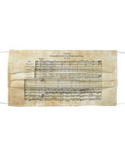 Concerto for Flute and Harp Mozart Cloth face mask thumbnail