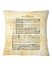 Concerto for Flute and Harp Mozart Square Pillowcase thumbnail