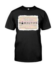 Hamilton 9 poster Classic T-Shirt thumbnail