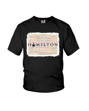 Hamilton 9 poster Youth T-Shirt thumbnail