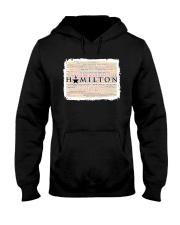 Hamilton 9 poster Hooded Sweatshirt thumbnail