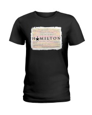 Hamilton 9 poster Ladies T-Shirt thumbnail