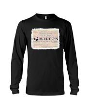Hamilton 9 poster Long Sleeve Tee thumbnail