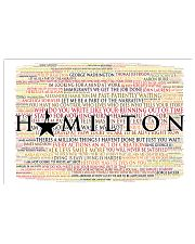 Hamilton 9 poster 17x11 Poster front