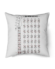 "Guitar Chord Notes Indoor Pillow - 16"" x 16"" thumbnail"